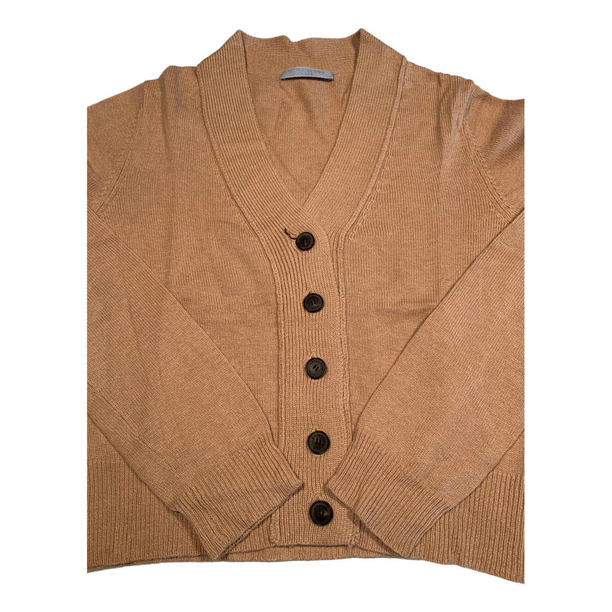 Strenesse - Pull   pour femme en laine - camel
