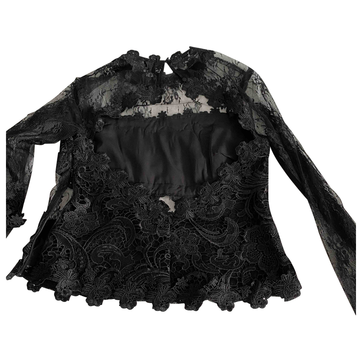tophop \N Black Lace  top for Women S International