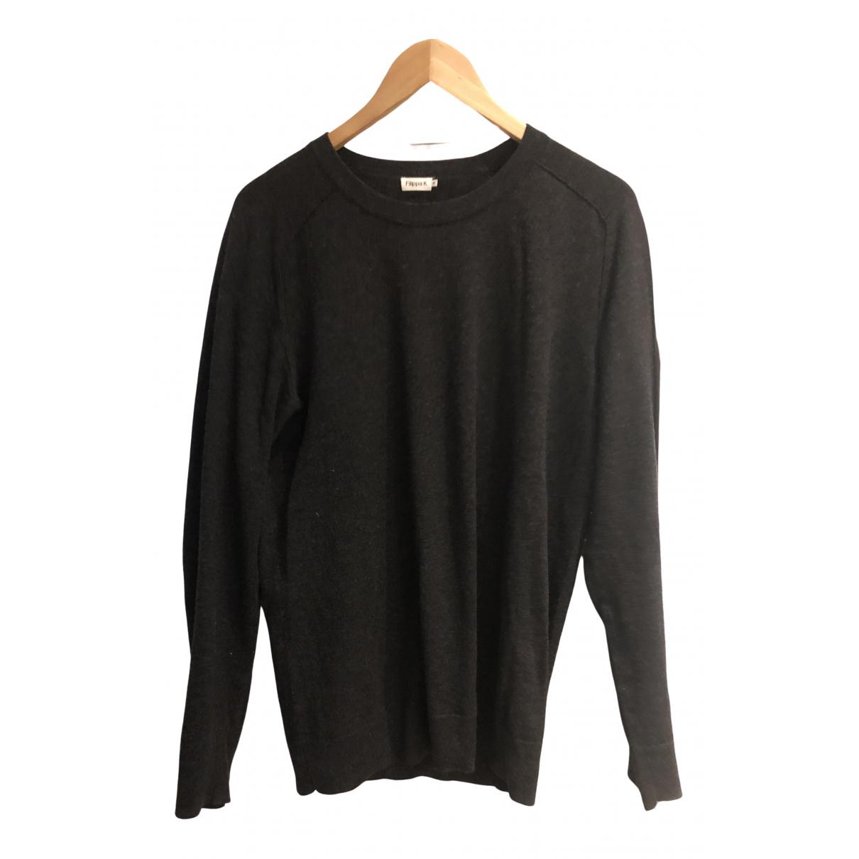 Filippa K - Pull   pour femme en laine - gris