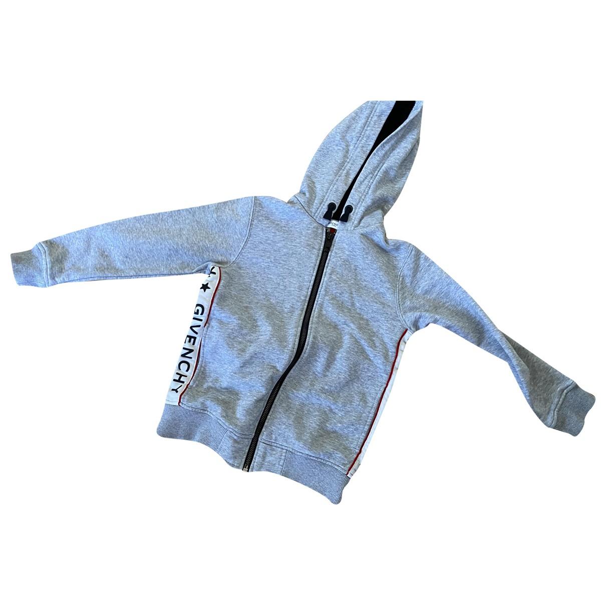 Givenchy - Pull   pour enfant en coton - gris