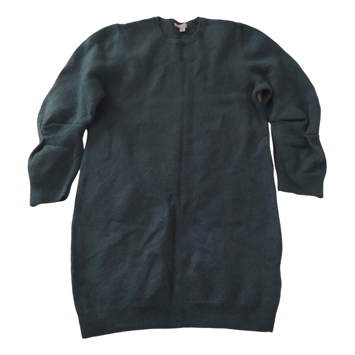 Cos \N Green Wool dress for Women S International