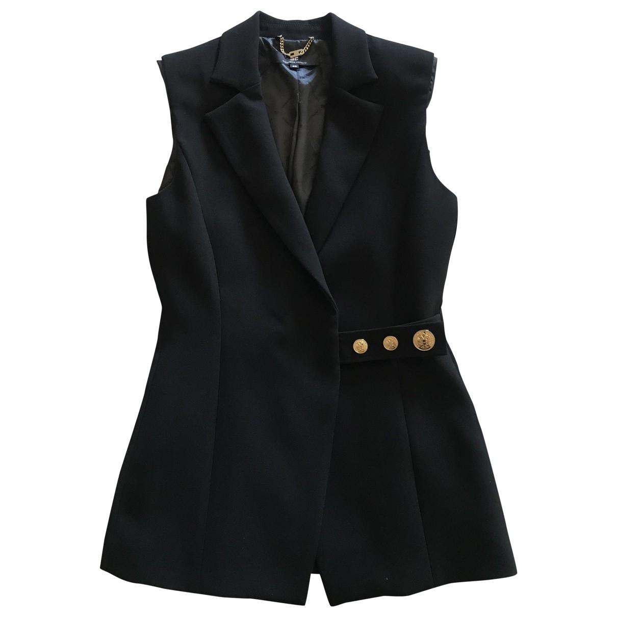 Elisabetta Franchi \N Black jacket for Women 40 IT