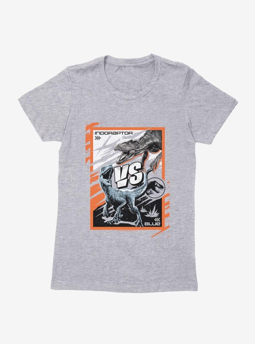 Jurassic World Indoraptor Vs. Blue Womens T-Shirt