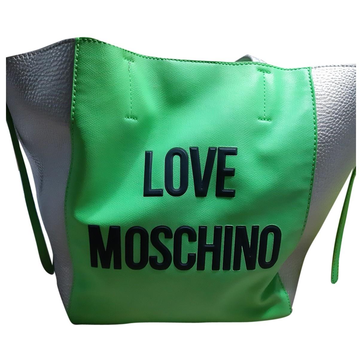 Bolso  de Lona Moschino Love