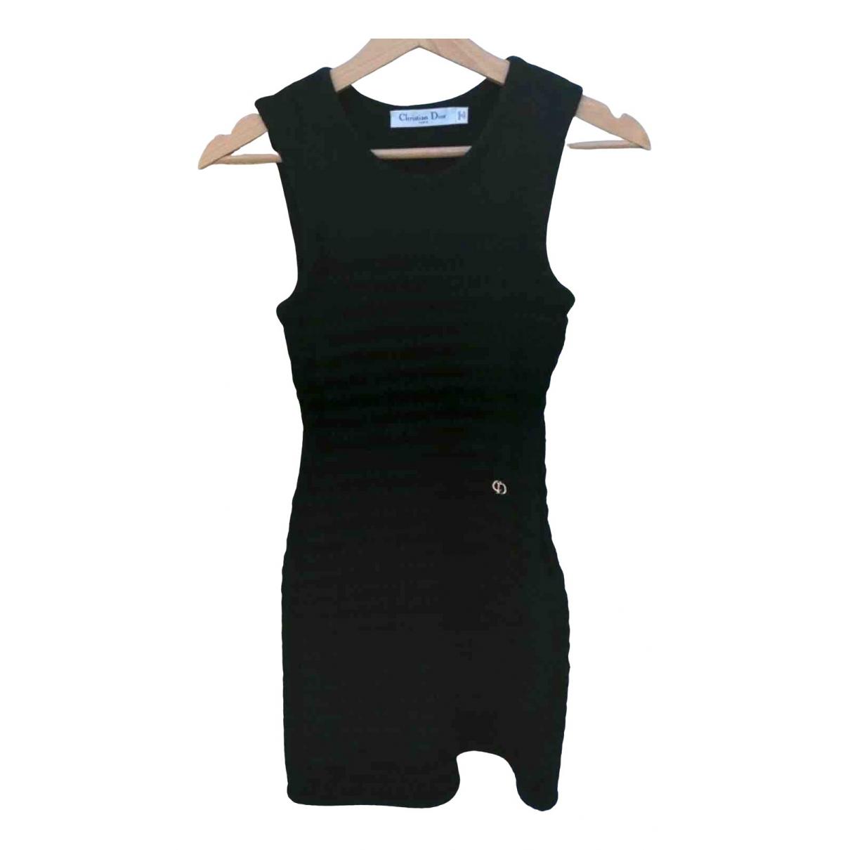 Dior - Robe   pour femme en laine - noir