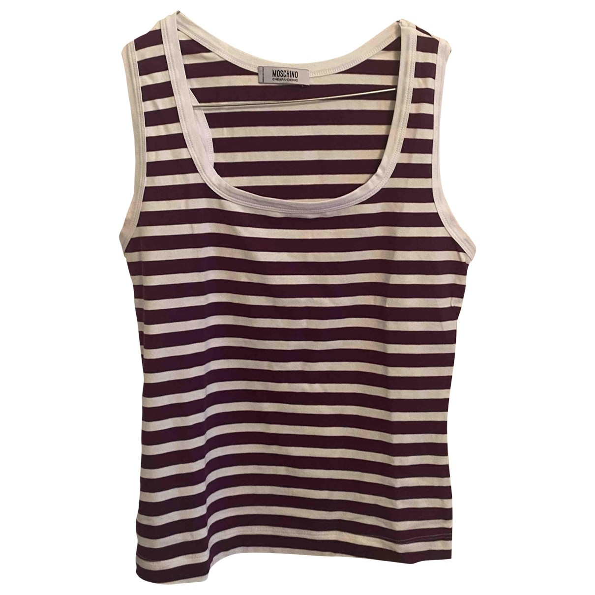 Moschino Cheap And Chic \N Top in  Lila Baumwolle
