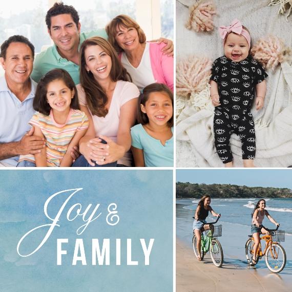 Family + Friends 8x8 Designer Print - Matte, Prints -Joy and Family