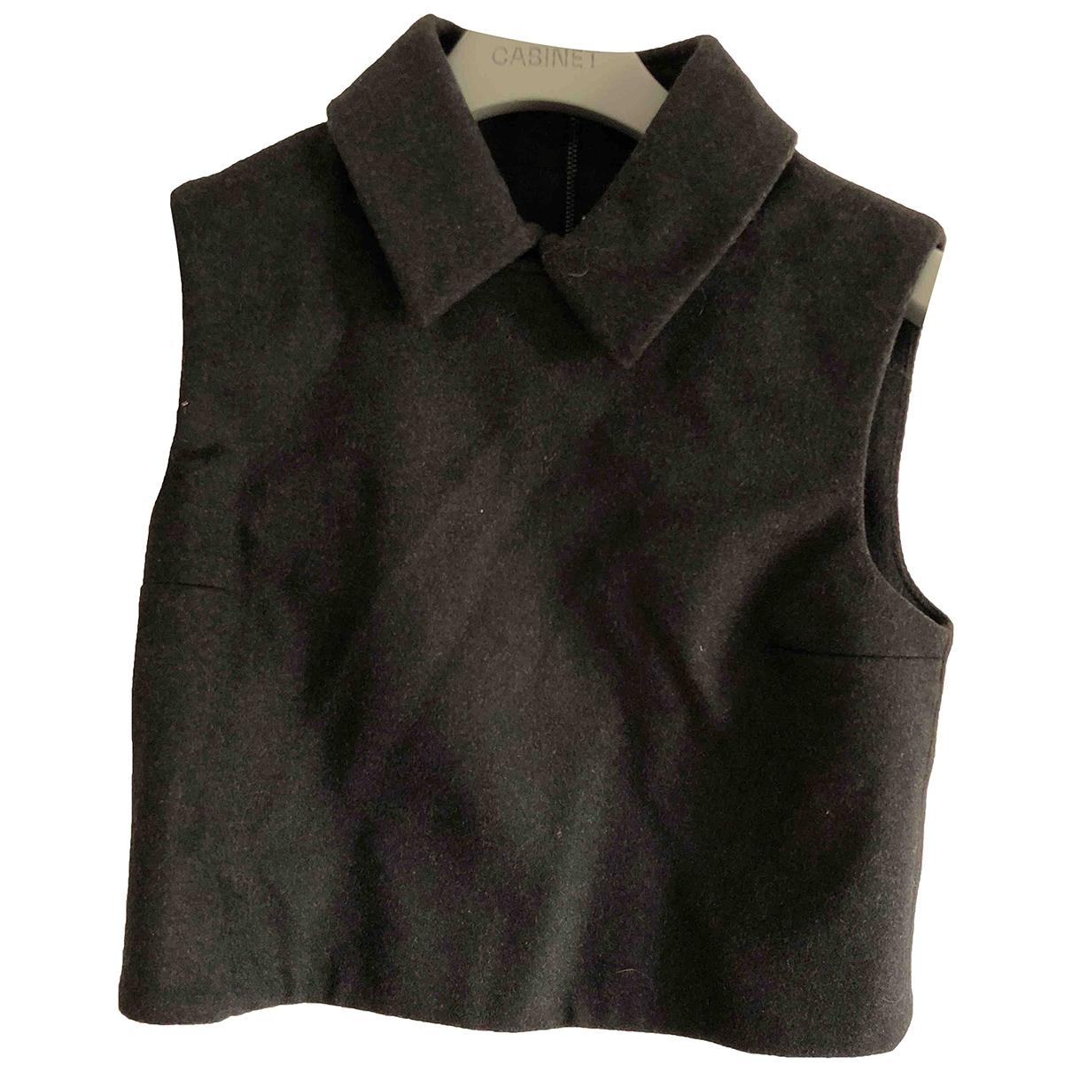 Cos \N Top in  Schwarz Wolle