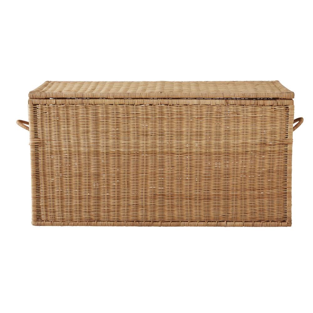 Koffer aus Rattangeflecht
