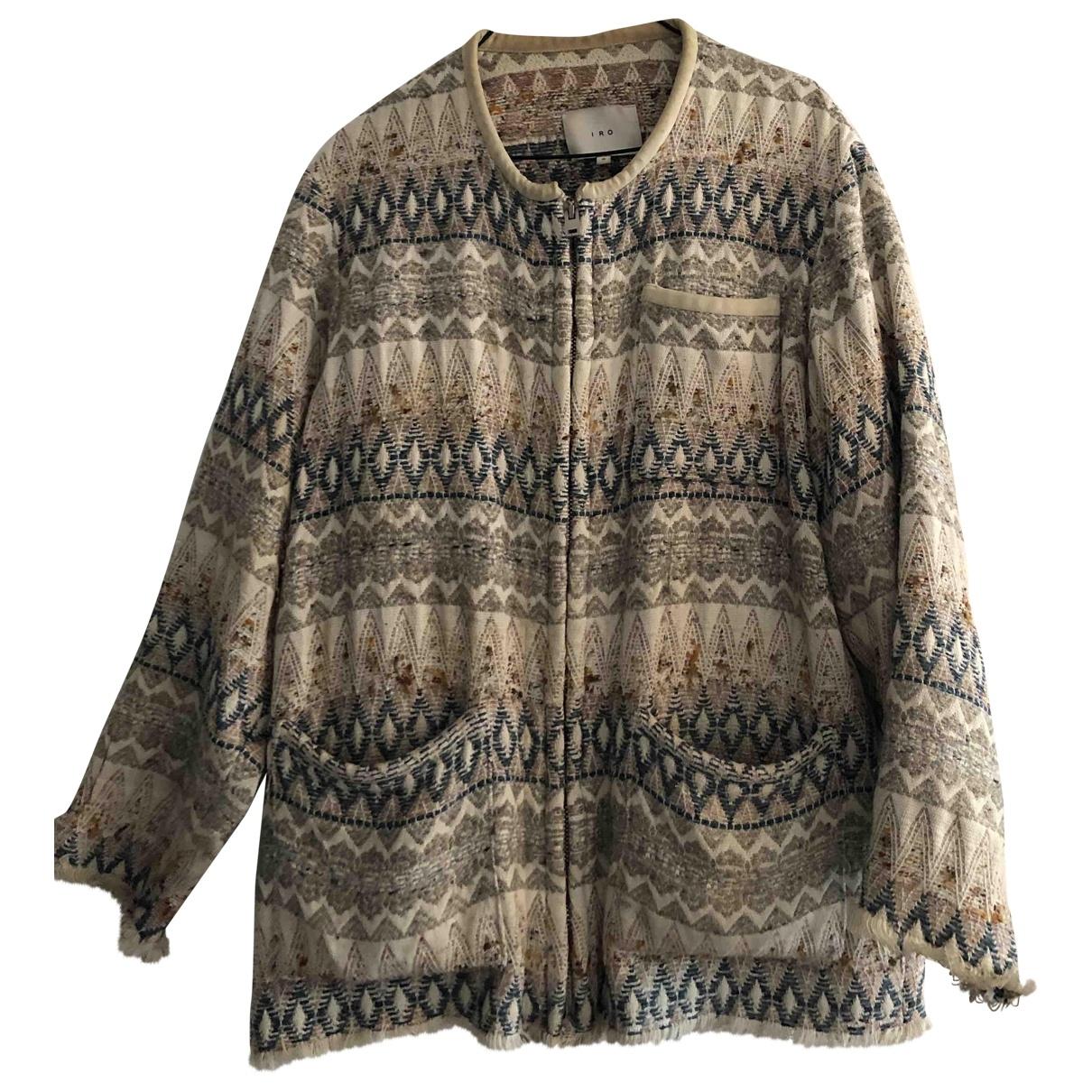 Iro \N Multicolour Cotton jacket for Women 0 0-5