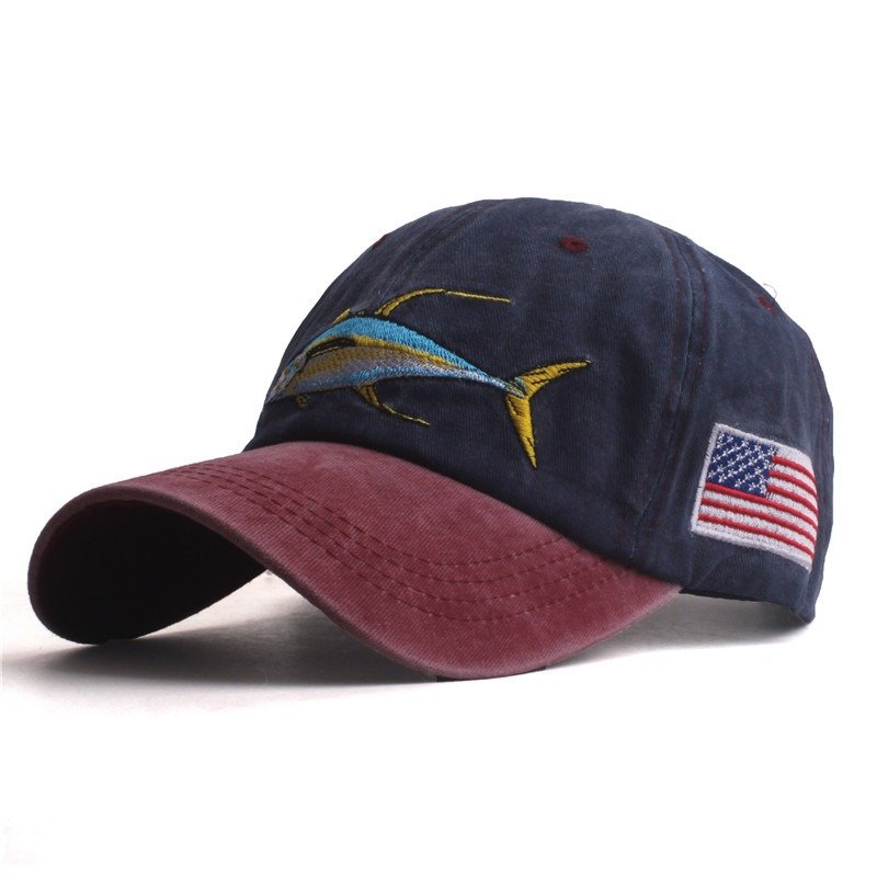Mens Womens Summer Washed Cotton Baseball Cap Outdoor Casual Sports Adjustable Sunshade Hat