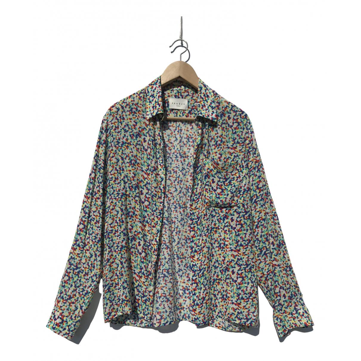 Sandro - Chemises   pour homme - multicolore