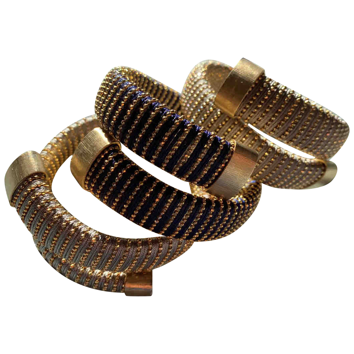 Carolina Bucci \N Beige Metal bracelet for Women \N