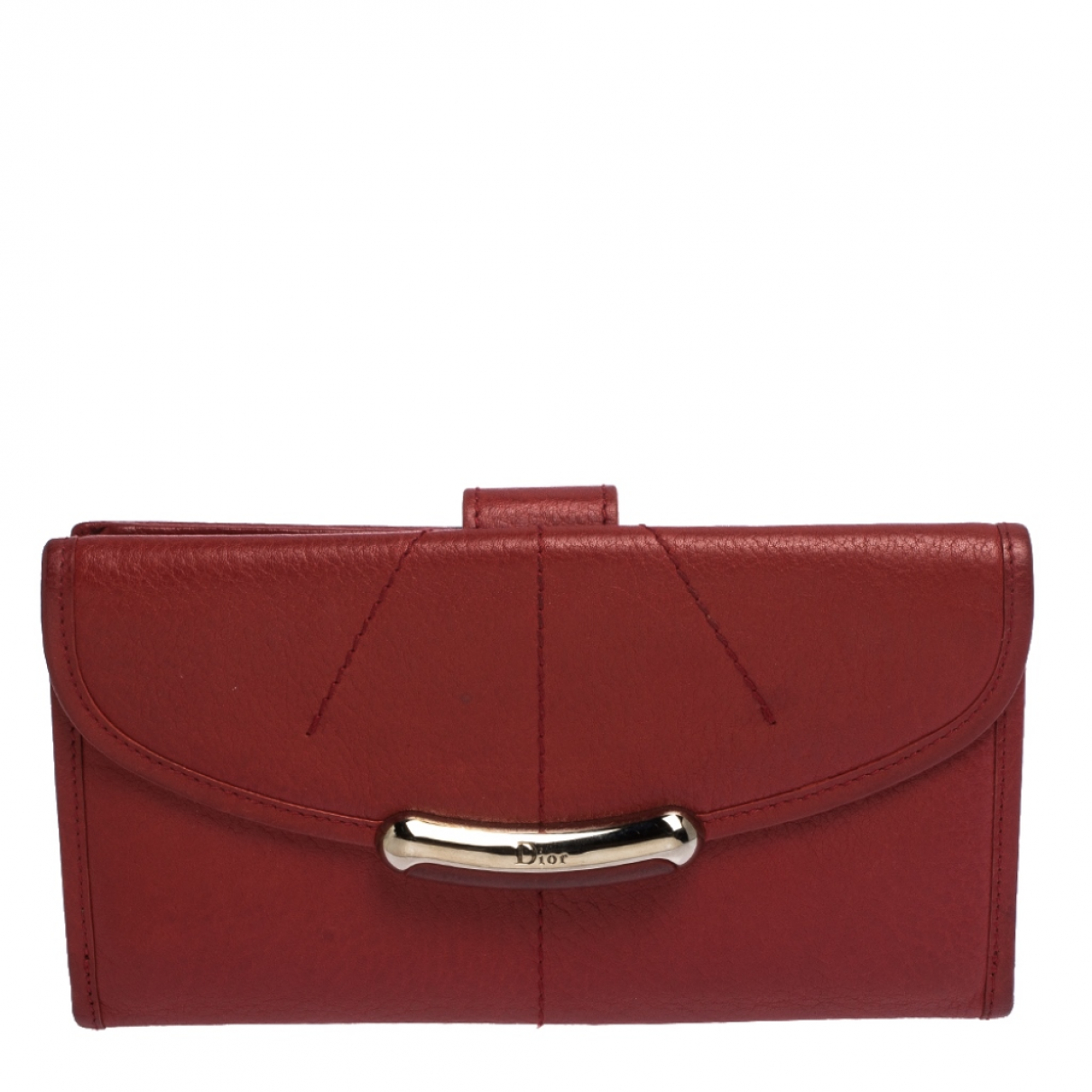 Dior N Red Leather wallet for Women N