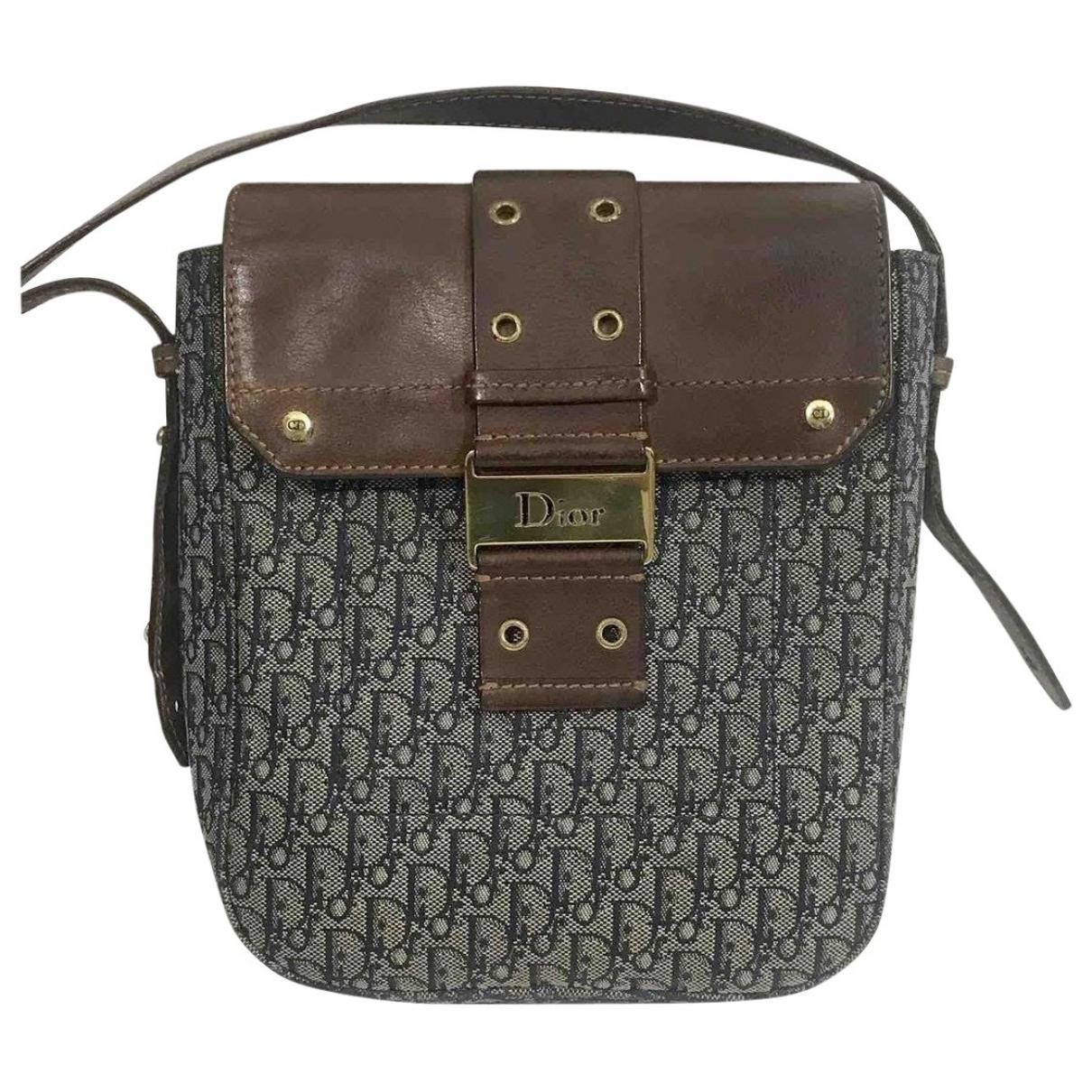 Dior \N Brown Cloth Clutch bag for Women \N