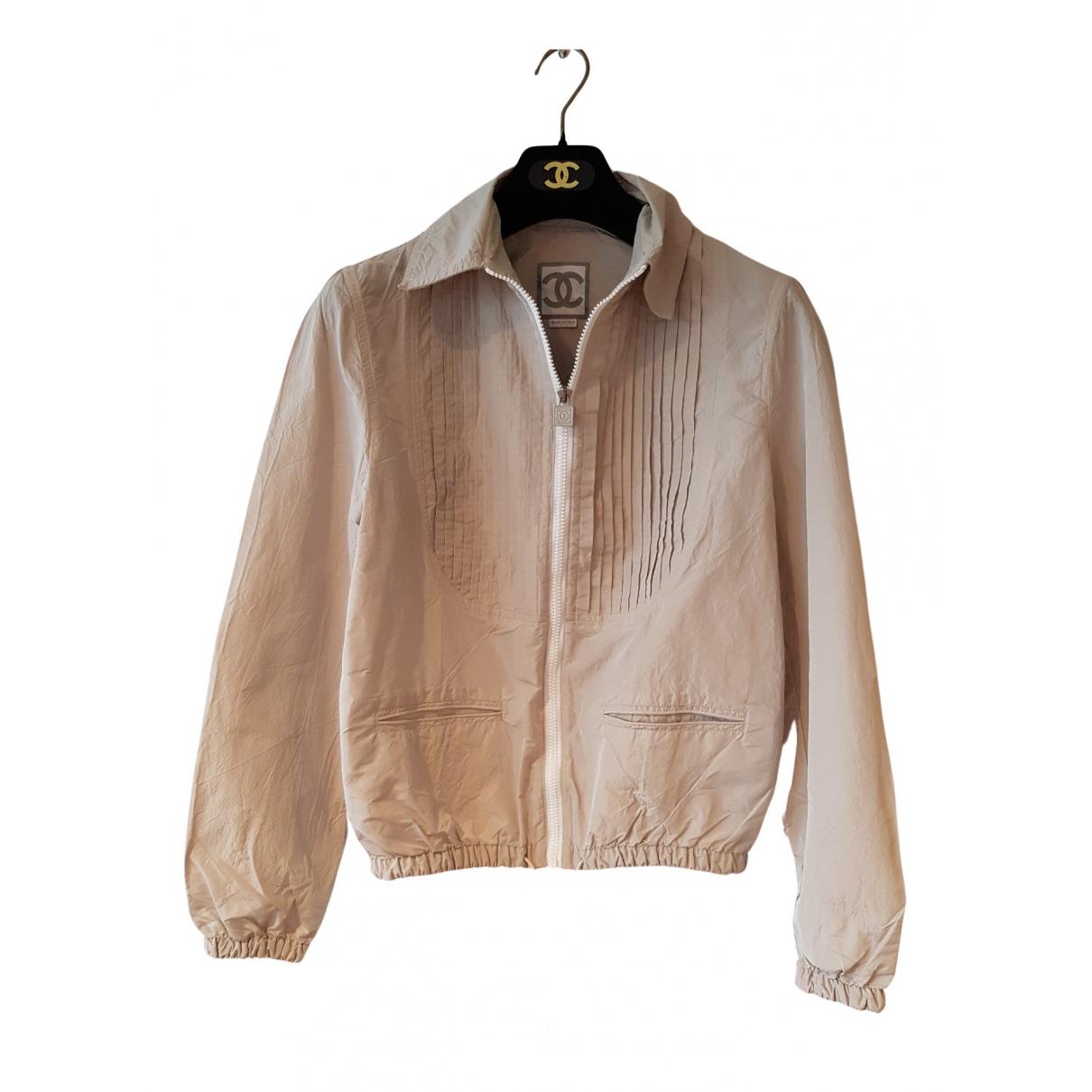 Chanel - Veste   pour femme - beige