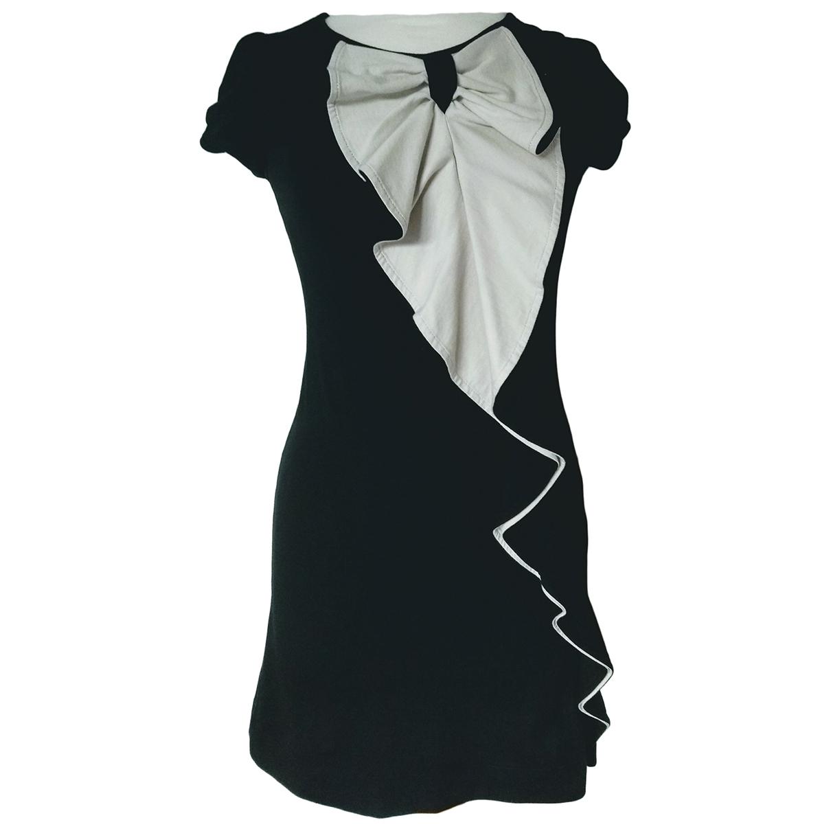 Ted Baker - Robe   pour femme en coton - elasthane - noir