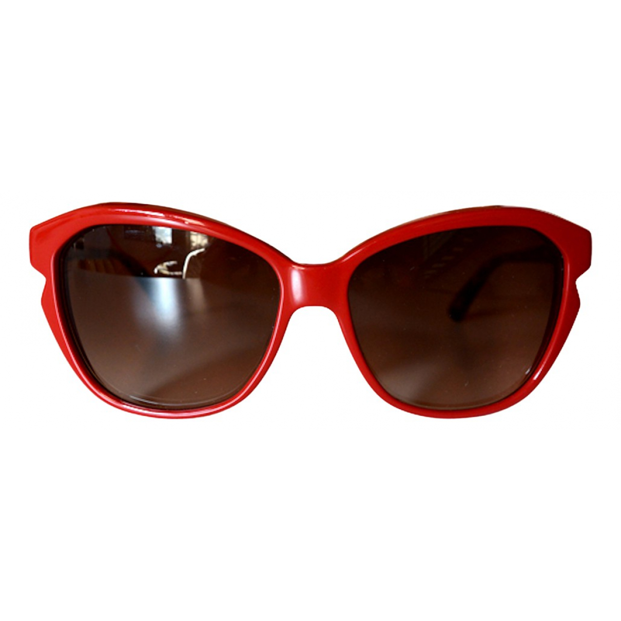 Dior \N Red Sunglasses for Women \N