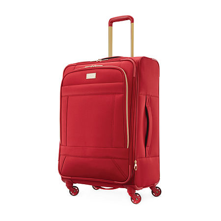 American Tourister Belle Voyage 24 Inch Lightweight Luggage, One Size , Red