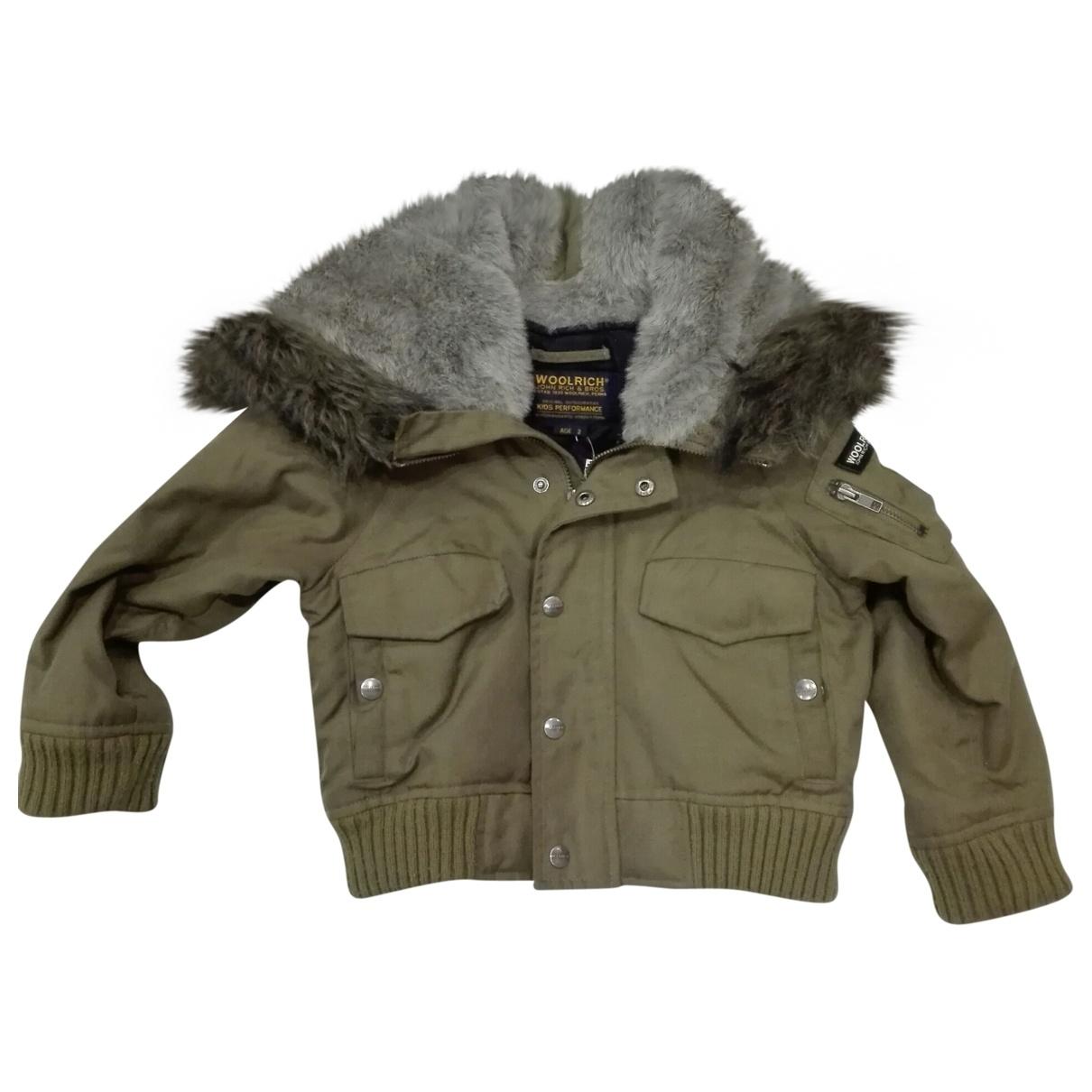 Woolrich - Blousons.Manteaux   pour enfant - kaki