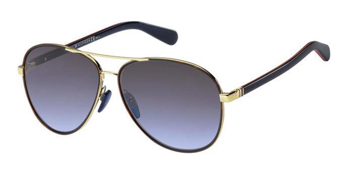 Tommy Hilfiger TH 1766/S J5G/GB Women's Sunglasses Black Size 61