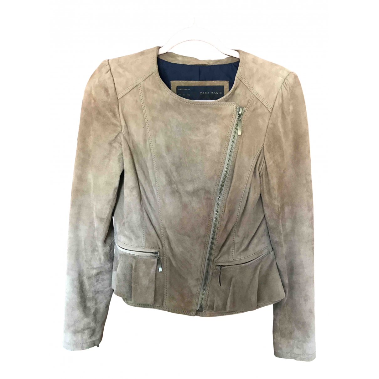 Zara \N Suede jacket for Women 12 UK