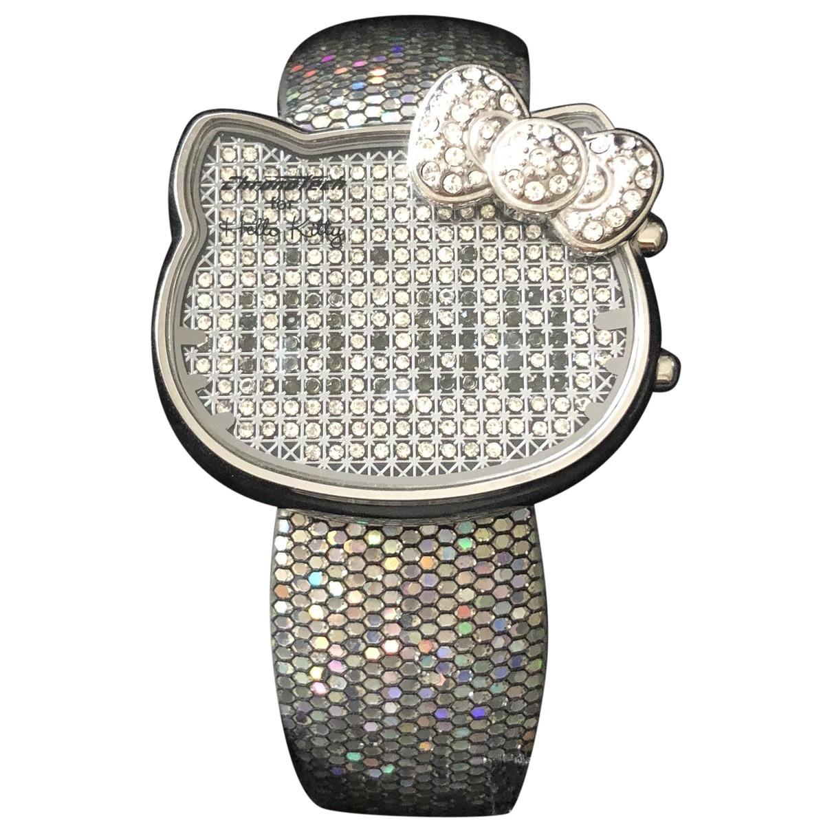 Chronowatch - Montre   pour femme en acier - argente