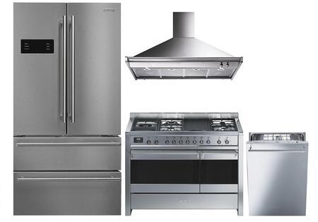 4-Piece Kitchen Appliances Package FQ50UFXE 36