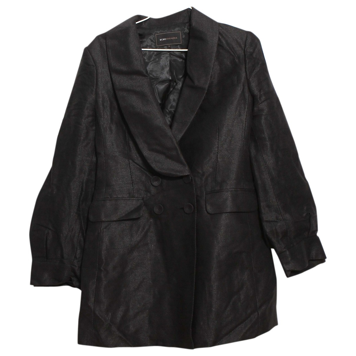 Bcbg Max Azria N Black Cotton jacket for Women S International