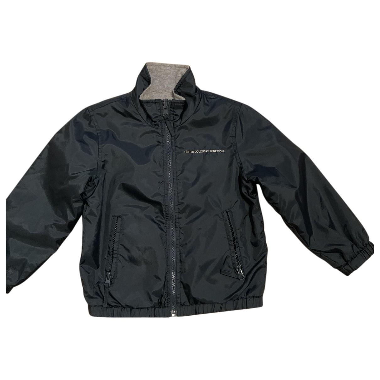 Benetton - Blousons.Manteaux   pour enfant - vert