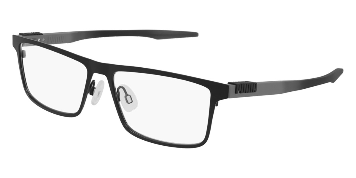 Puma PU0305O 001 Men's Glasses Black Size 59 - Free Lenses - HSA/FSA Insurance - Blue Light Block Available