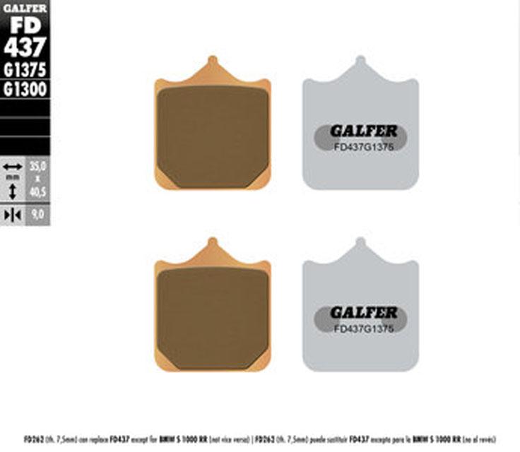 Galfer Front Brake Pads BMW S 1000 RR