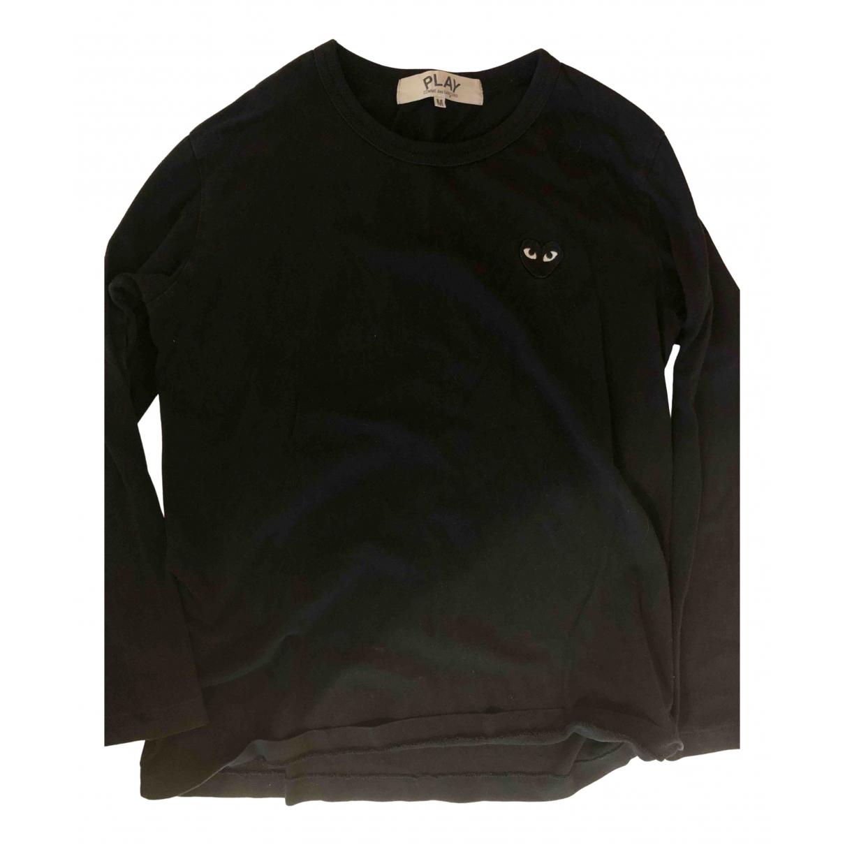 Play Comme Des Garcons - Tee shirts   pour homme en coton - noir