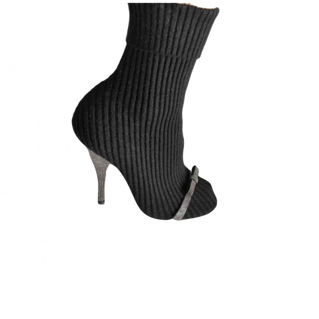 Marco De Vincenzo - Boots   pour femme - noir