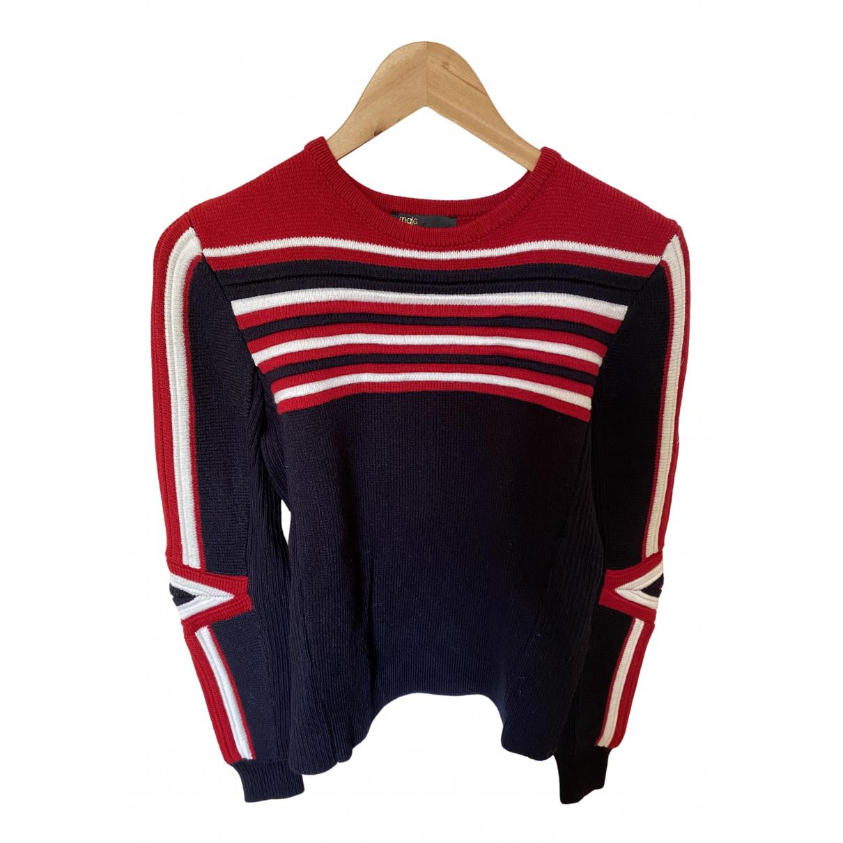 Maje Fall Winter 2019 Navy Wool Knitwear for Women 1 US