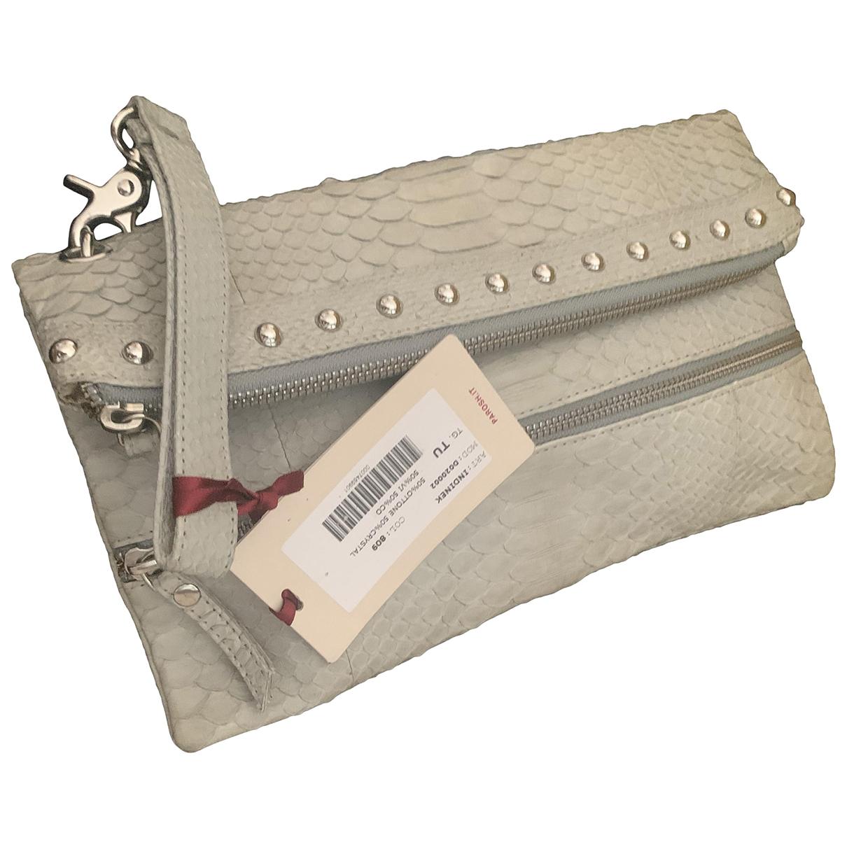 Parosh \N Handtasche in  Grau Python
