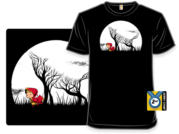 Hidden Wolf T Shirt
