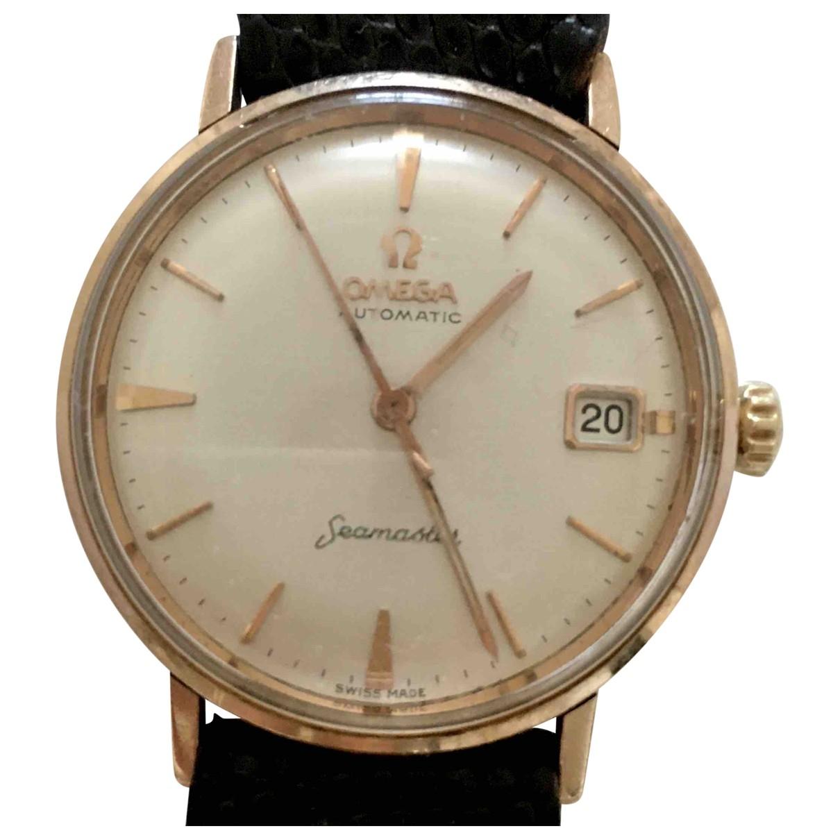 Omega Seamaster Uhr in  Schwarz Rosegold