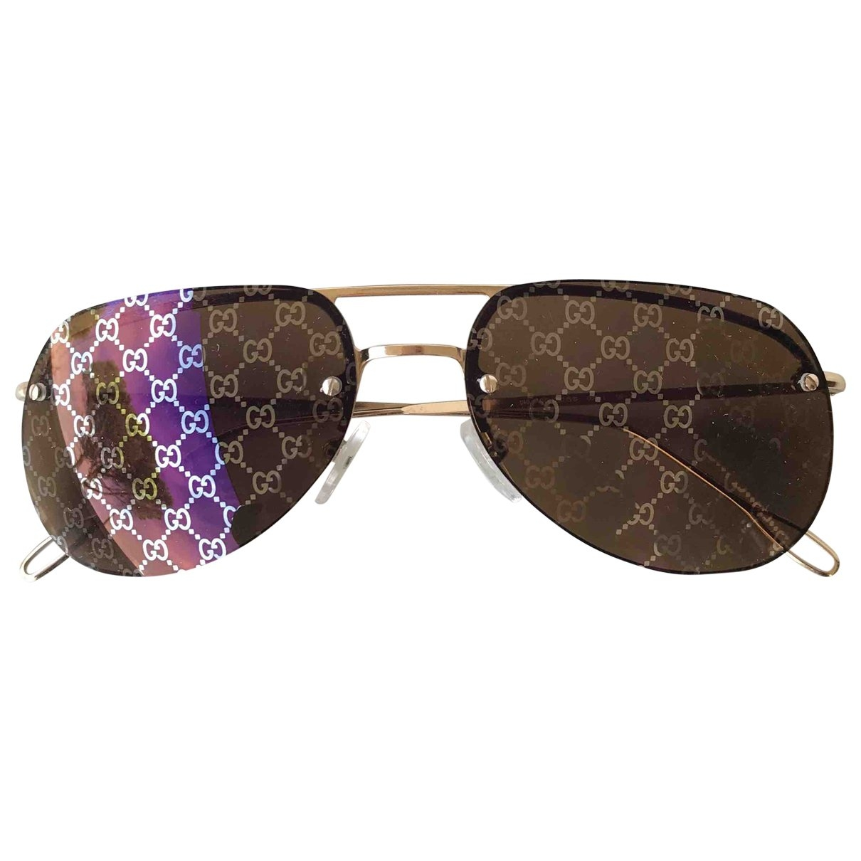 Gucci \N Metal Sunglasses for Women \N