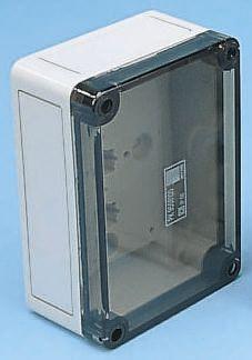 Rittal PK, Grey Polycarbonate Enclosure, IP66, 180x110x90mm