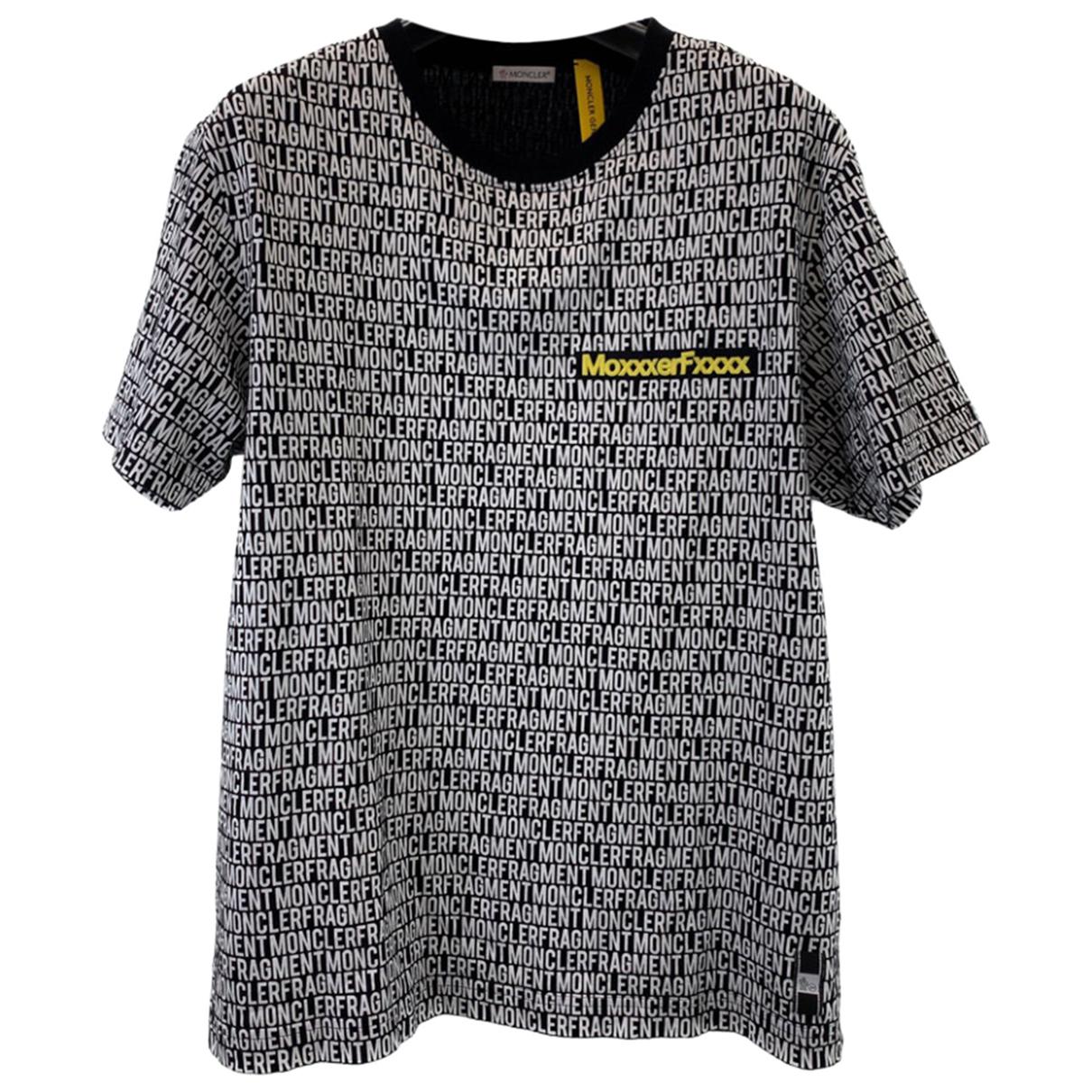 Moncler - Tee shirts   pour homme en coton - gris