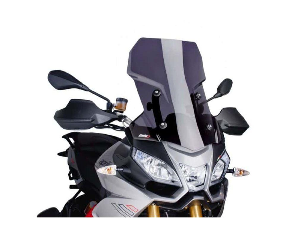 Puig 6484F Touring Windscreen - Dark Smoke Aprilia Caponord 1200 2013