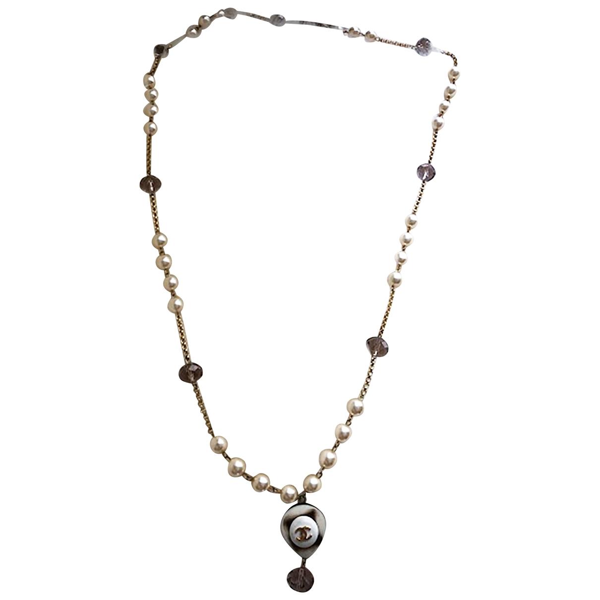 Chanel - Sautoir   pour femme en perles - dore