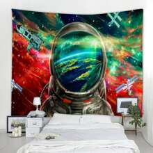 Astronaut Pattern Tapestry