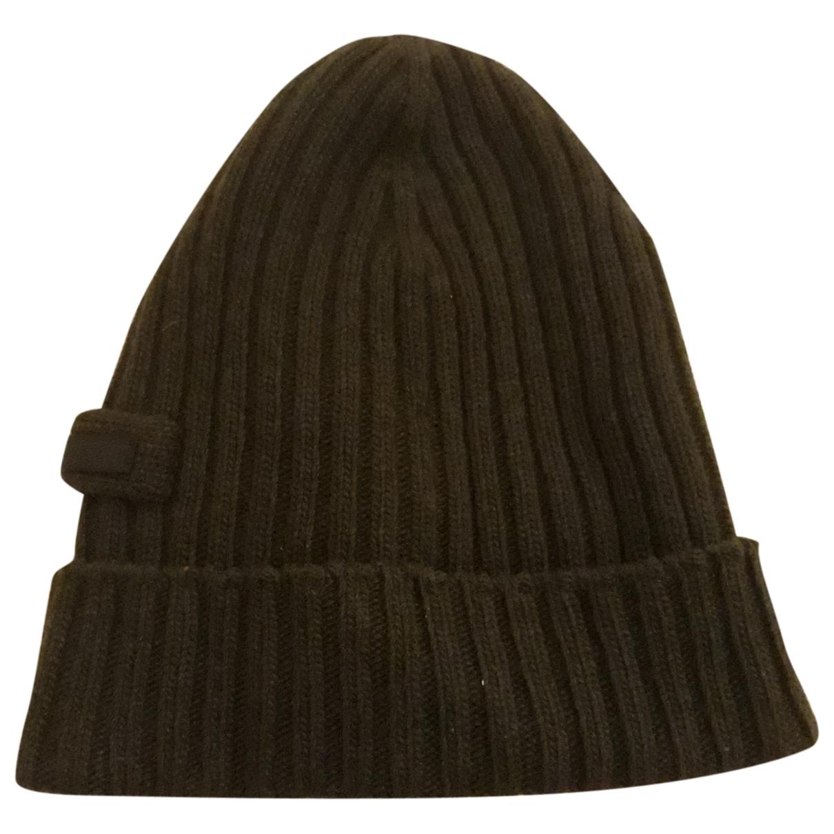 Prada \N Brown Wool hat & pull on hat for Men M International