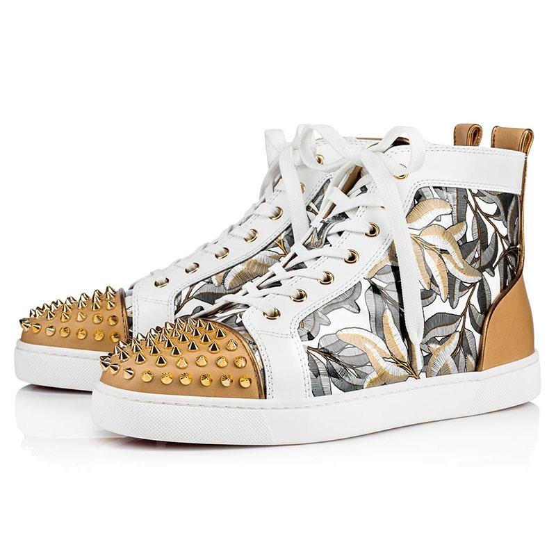 Ericdress Rivet Patchwork High-Cut Upper Men's Skate Shoes