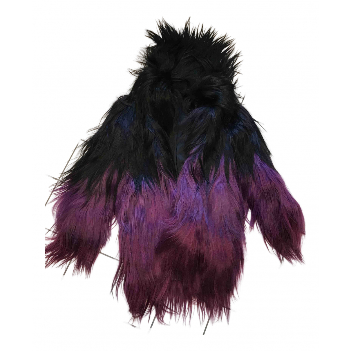 Tom Ford - Manteau   pour femme en fourrure - noir
