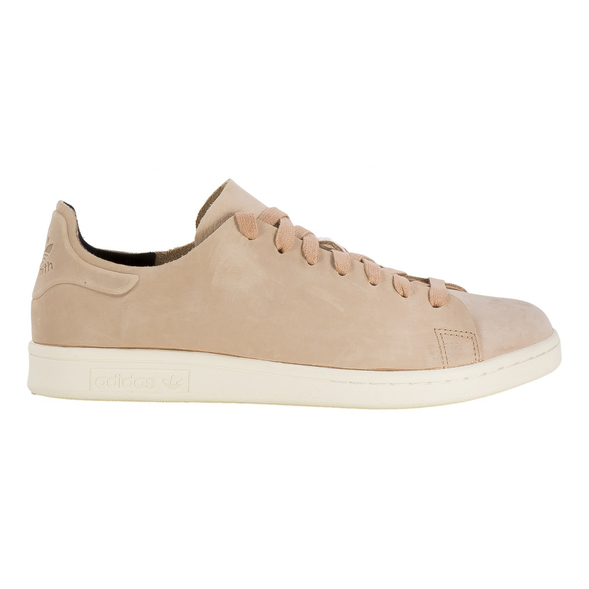 Adidas Stan Smith Beige Leather Trainers for Women 40.5 EU