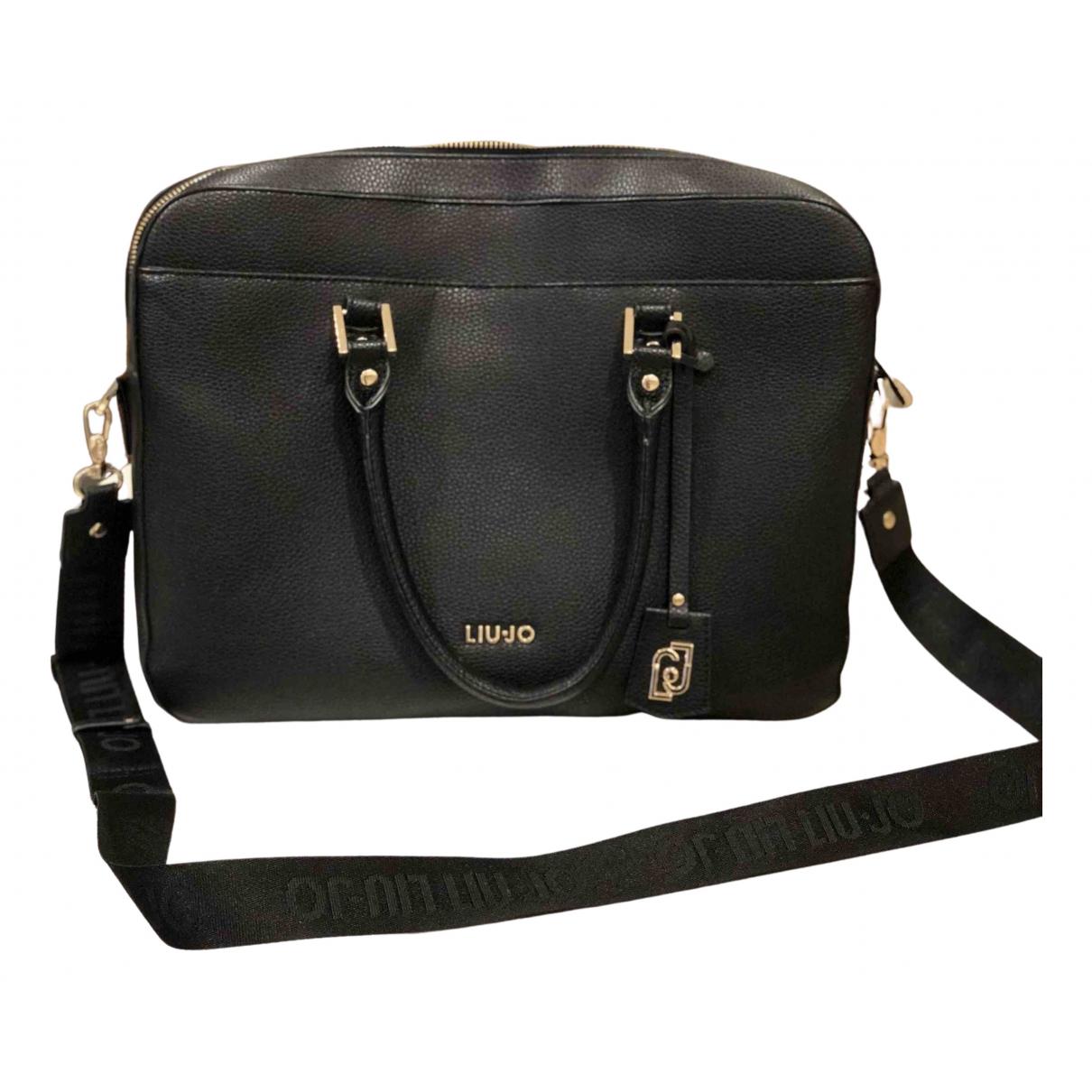Liu.jo \N Handtasche in  Schwarz Synthetik