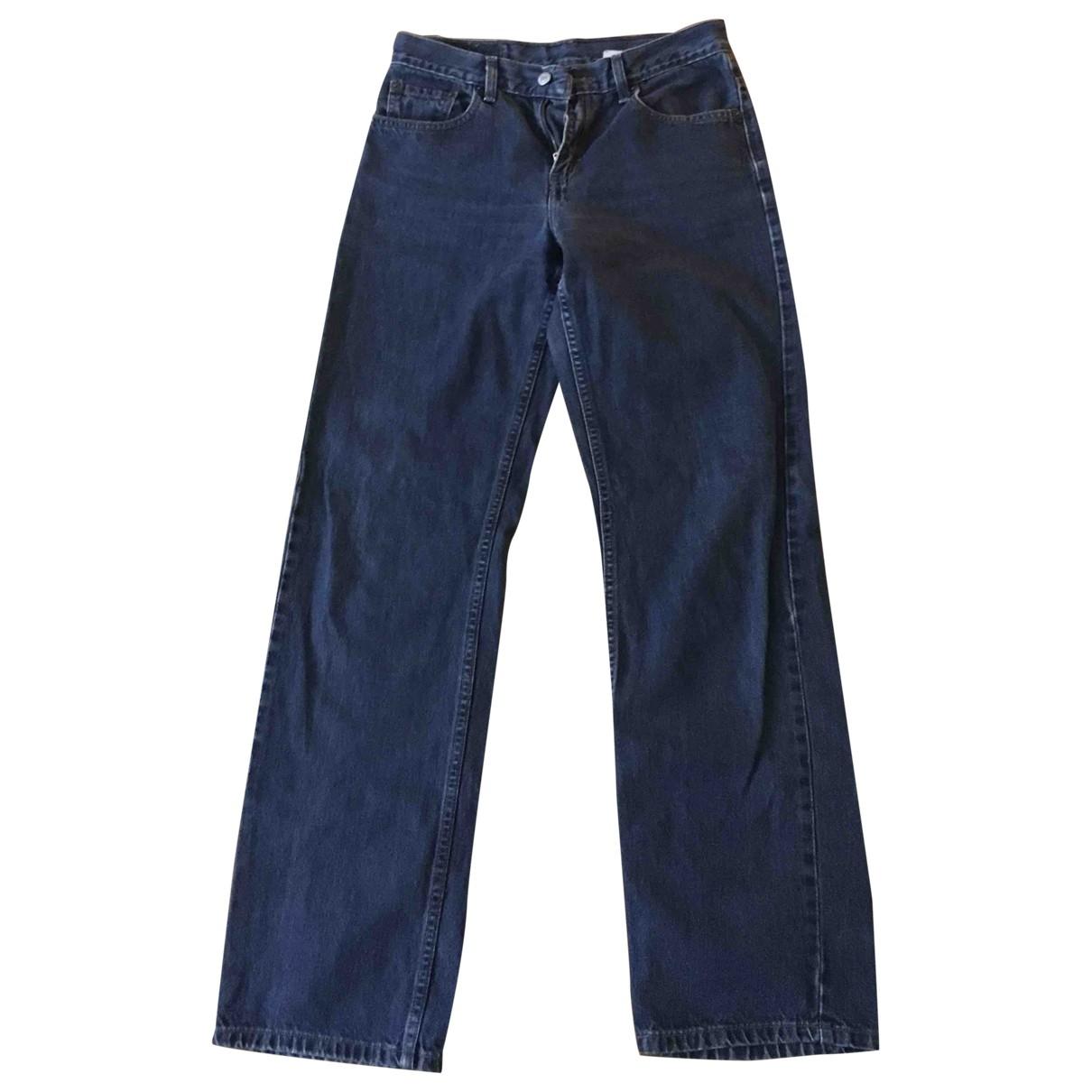 Levi's \N Blue Denim - Jeans Jeans for Women 36 FR